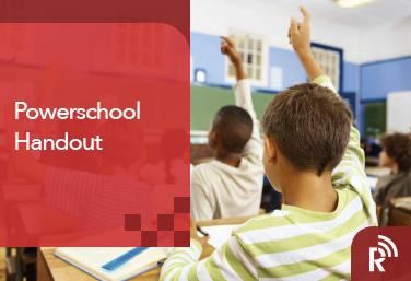 Resource Center powerSchool Handout
