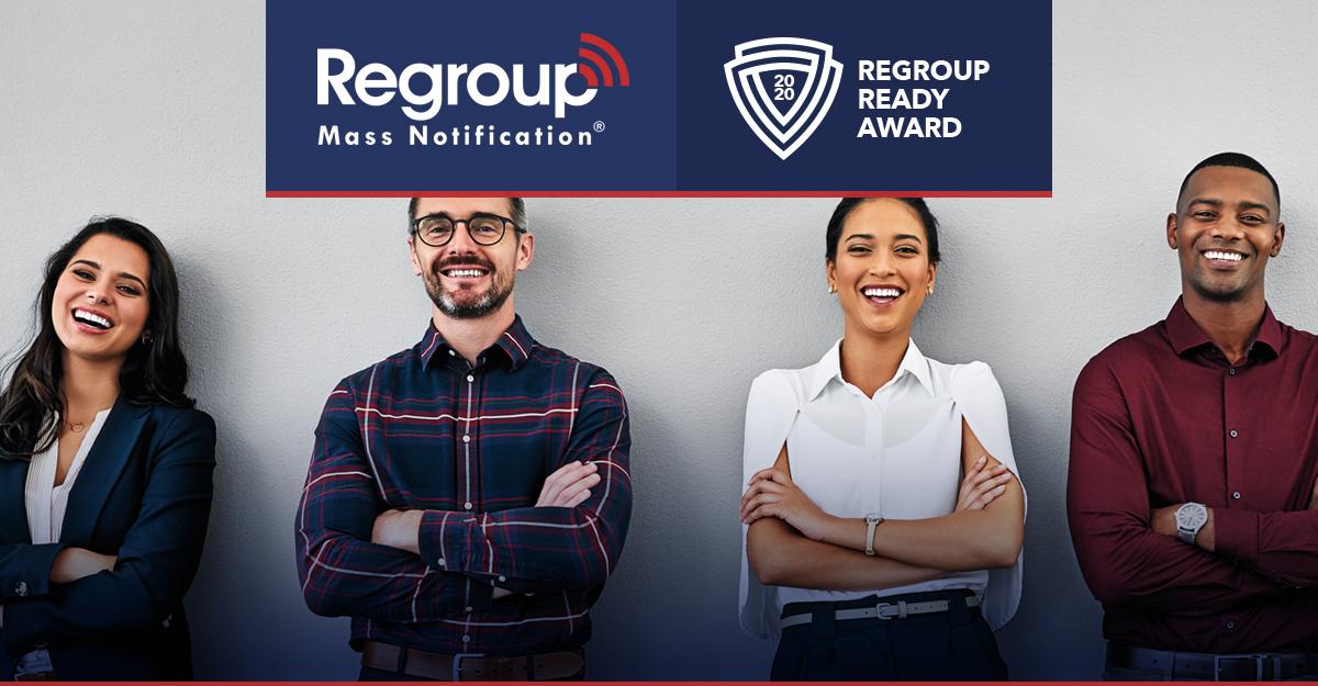 2020 Regroup Ready Award
