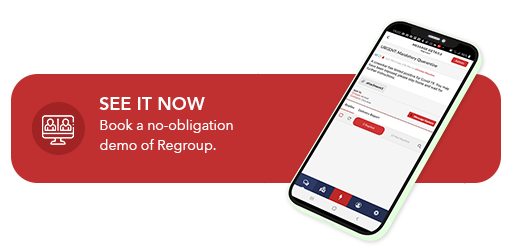 request a demo of regroup