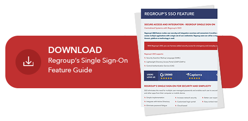 download regroup sso feature guide