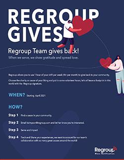 regroup gives