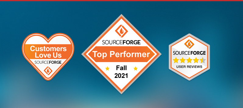 sourceforge fall 2021 winner