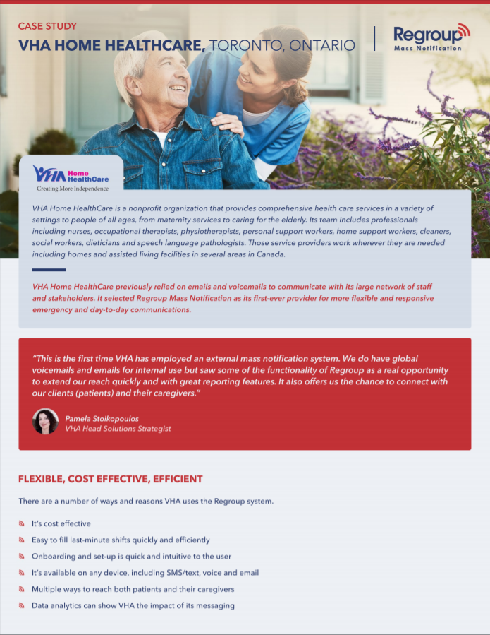 Vha Regroup for Healthcare